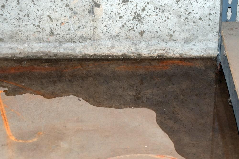 kelderdrainage: water in kelder
